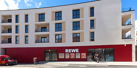 Full-Line grocery store REWE